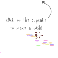 click on the cupcake